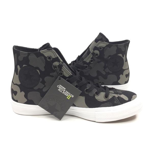 f68b8fb10a9549 NEW CONVERSE CTAS II Reflective Camo Shoes Sneaker